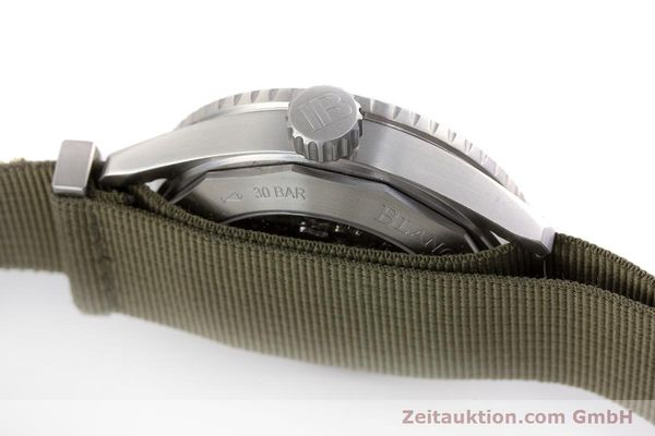 Used luxury watch Blancpain Fifty Fathoms steel automatic Kal. 1315 Ref. 5000-1110-NAKA  | 161472 08