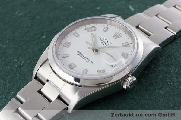 Used luxury watch Rolex Date steel automatic Kal. 3135 Ref. 15200  | 161473 01