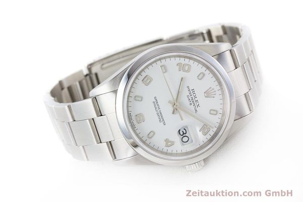 Used luxury watch Rolex Date steel automatic Kal. 3135 Ref. 15200  | 161473 03