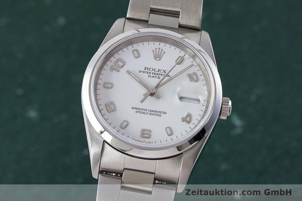 Used luxury watch Rolex Date steel automatic Kal. 3135 Ref. 15200  | 161473 04