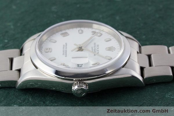 Used luxury watch Rolex Date steel automatic Kal. 3135 Ref. 15200  | 161473 05