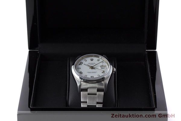 Used luxury watch Rolex Date steel automatic Kal. 3135 Ref. 15200  | 161473 07