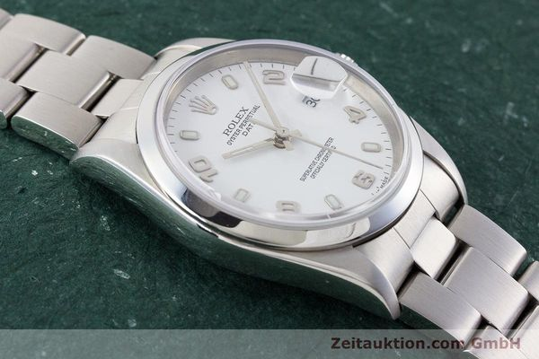 Used luxury watch Rolex Date steel automatic Kal. 3135 Ref. 15200  | 161473 17