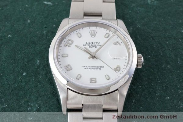 Used luxury watch Rolex Date steel automatic Kal. 3135 Ref. 15200  | 161473 18