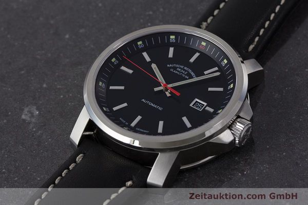 Used luxury watch Mühle 29er Big steel automatic Kal. ETA 2824-2 Ref. M1-25-30  | 161476 01