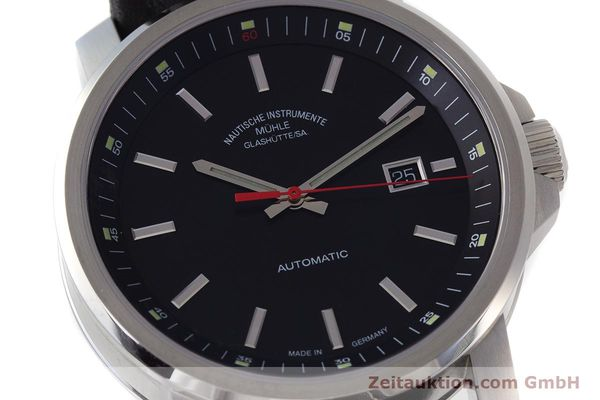 Used luxury watch Mühle 29er Big steel automatic Kal. ETA 2824-2 Ref. M1-25-30  | 161476 02