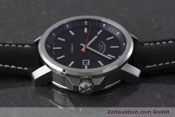 Used luxury watch Mühle 29er Big steel automatic Kal. ETA 2824-2 Ref. M1-25-30  | 161476 05