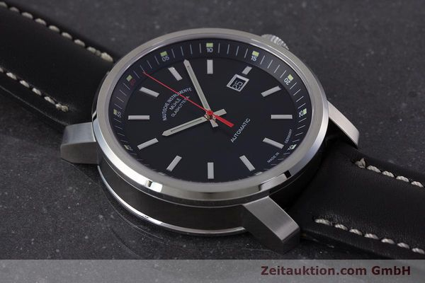 Used luxury watch Mühle 29er Big steel automatic Kal. ETA 2824-2 Ref. M1-25-30  | 161476 15