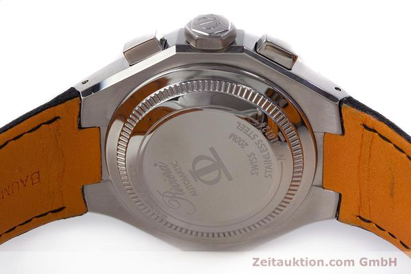 Used luxury watch Baume & Mercier Riviera chronograph steel automatic Kal. ETA 7750 Ref. 65638  | 161477 09