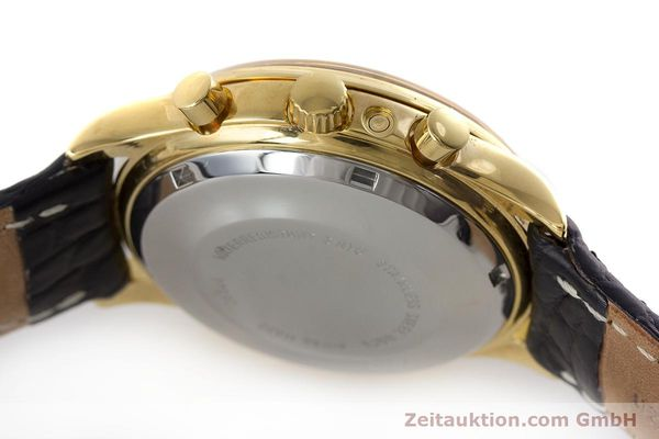 Used luxury watch Chronoswiss A. Rochat chronograph gold-plated automatic Kal. Val 7750 Ref. 77990  | 161482 08