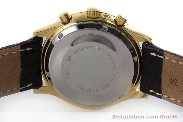 Used luxury watch Chronoswiss A. Rochat chronograph gold-plated automatic Kal. Val 7750 Ref. 77990  | 161482 09