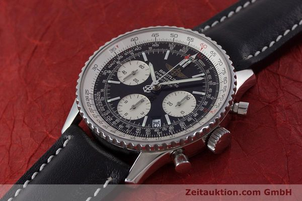 Used luxury watch Breitling Navitimer chronograph steel automatic Kal. B23 ETA 7753 Ref. A23322  | 161485 01