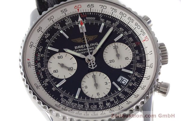 Used luxury watch Breitling Navitimer chronograph steel automatic Kal. B23 ETA 7753 Ref. A23322  | 161485 02