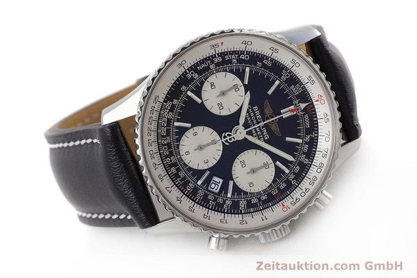 Used luxury watch Breitling Navitimer chronograph steel automatic Kal. B23 ETA 7753 Ref. A23322  | 161485 03