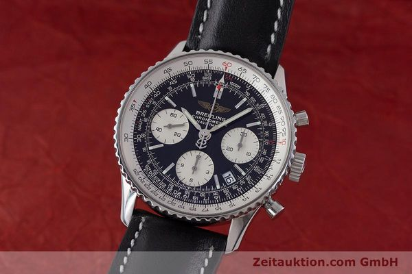 Used luxury watch Breitling Navitimer chronograph steel automatic Kal. B23 ETA 7753 Ref. A23322  | 161485 04