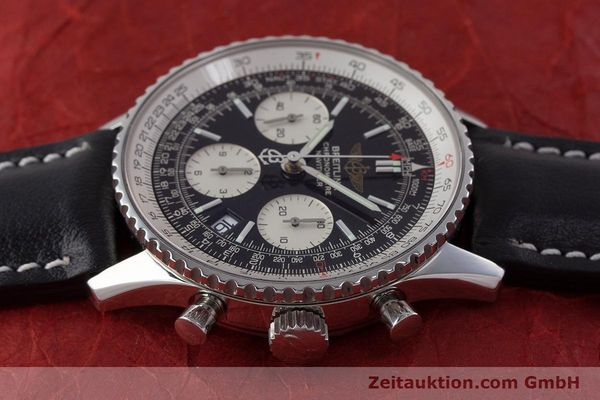 Used luxury watch Breitling Navitimer chronograph steel automatic Kal. B23 ETA 7753 Ref. A23322  | 161485 05