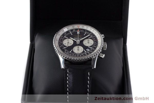 Used luxury watch Breitling Navitimer chronograph steel automatic Kal. B23 ETA 7753 Ref. A23322  | 161485 07
