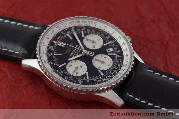 Used luxury watch Breitling Navitimer chronograph steel automatic Kal. B23 ETA 7753 Ref. A23322  | 161485 12