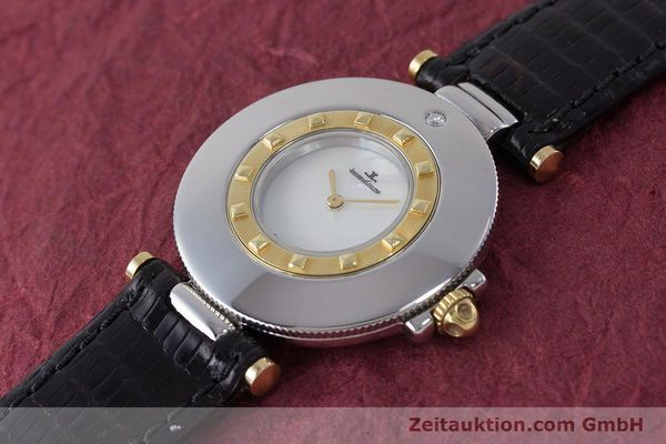 Used luxury watch Jaeger Le Coultre Rendez-Vous  steel / gold quartz Kal. 609 Ref. 421.5.09  | 161487 01