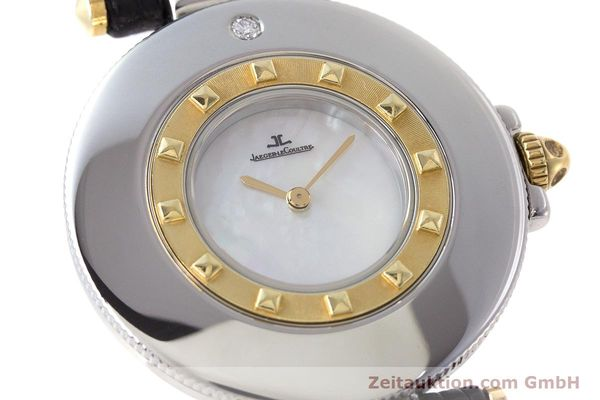 Used luxury watch Jaeger Le Coultre Rendez-Vous  steel / gold quartz Kal. 609 Ref. 421.5.09  | 161487 02
