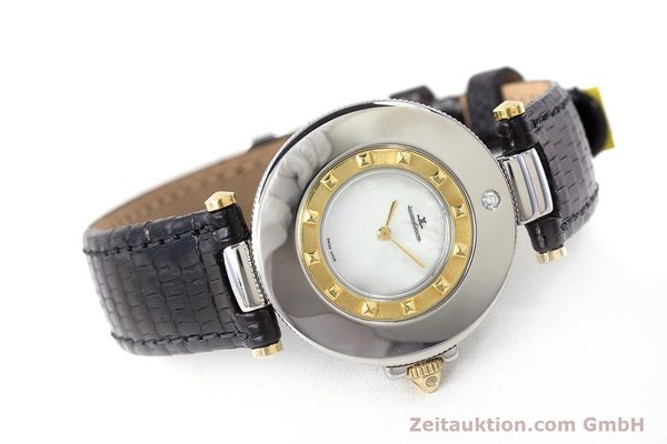 Used luxury watch Jaeger Le Coultre Rendez-Vous  steel / gold quartz Kal. 609 Ref. 421.5.09  | 161487 03