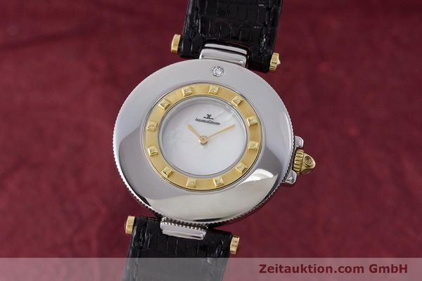 Used luxury watch Jaeger Le Coultre Rendez-Vous  steel / gold quartz Kal. 609 Ref. 421.5.09  | 161487 04