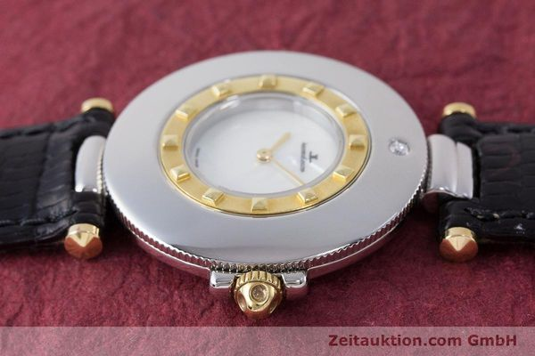 Used luxury watch Jaeger Le Coultre Rendez-Vous  steel / gold quartz Kal. 609 Ref. 421.5.09  | 161487 05