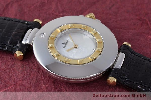 Used luxury watch Jaeger Le Coultre Rendez-Vous  steel / gold quartz Kal. 609 Ref. 421.5.09  | 161487 12