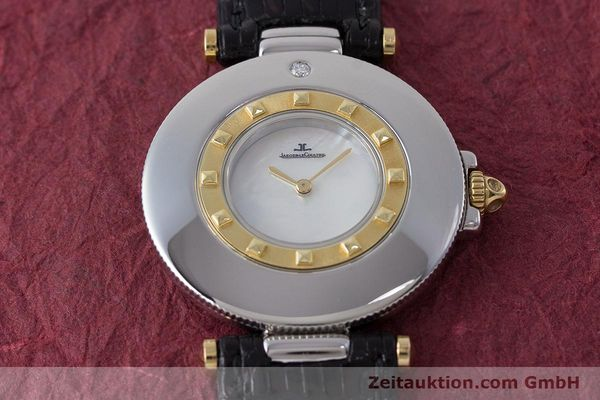 Used luxury watch Jaeger Le Coultre Rendez-Vous  steel / gold quartz Kal. 609 Ref. 421.5.09  | 161487 13