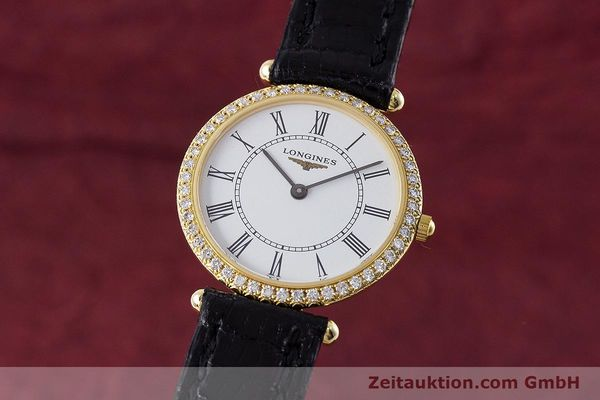 LONGINES LA GRANDE CLASSIQUE OR 18 CT QUARTZ KAL. ETA 281.002 LP: 5680EUR [161488]