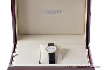 LONGINES LA GRANDE CLASSIQUE 18 CT GOLD QUARTZ KAL. ETA 281.002 LP: 5680EUR [161488]