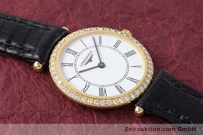 LONGINES LADY 18K GOLD LA GRANDE CLASSIQUE DIAMANTEN L4.191.7 VP: 5680,- Euro [161488]