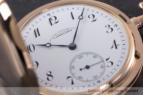 Used luxury watch A. Lange & Söhne DUF 14 ct red gold manual winding Kal. 43  | 161491 02
