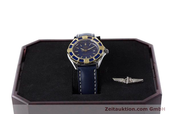 Used luxury watch Breitling Lady J steel / gold quartz Kal. B52 ETA 956.112 Ref. D52065  | 161499 07