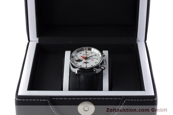 Used luxury watch Alain Silberstein Krono Bauhaus chronograph steel automatic Kal. ETA 7751  | 161503 07