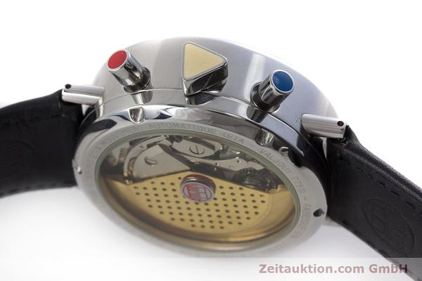 Used luxury watch Alain Silberstein Krono Bauhaus chronograph steel automatic Kal. ETA 7751  | 161503 08
