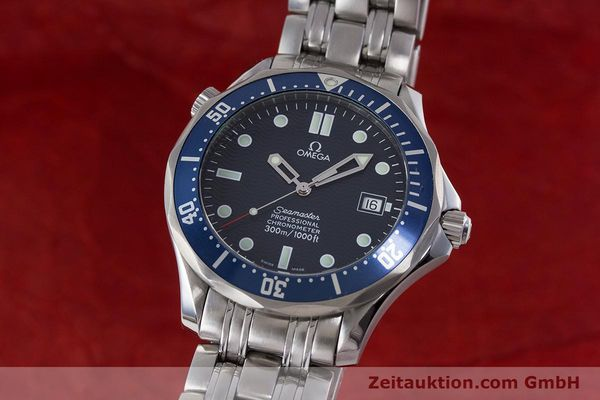 Used luxury watch Omega Seamaster steel automatic Kal. 1120  | 161504 04