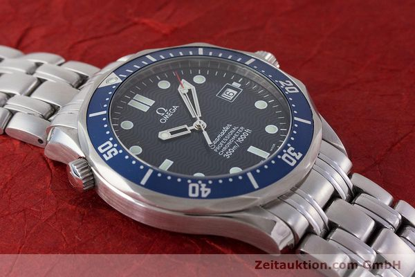 Used luxury watch Omega Seamaster steel automatic Kal. 1120  | 161504 18