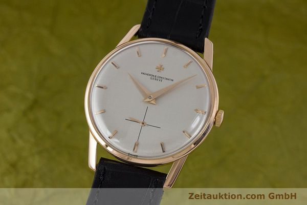 Used luxury watch Vacheron & Constantin * 18 ct gold manual winding Kal. P453/3B Ref. 6413 VINTAGE  | 161525 04