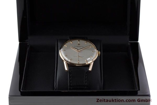 Used luxury watch Vacheron & Constantin * 18 ct gold manual winding Kal. P453/3B Ref. 6413 VINTAGE  | 161525 07