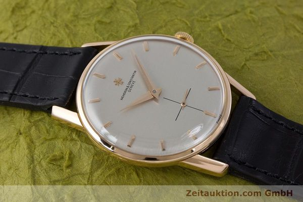 Used luxury watch Vacheron & Constantin * 18 ct gold manual winding Kal. P453/3B Ref. 6413 VINTAGE  | 161525 13