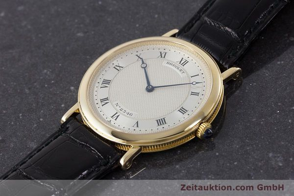 Used luxury watch Breguet Classique 18 ct gold automatic Kal. 2260  | 161526 01