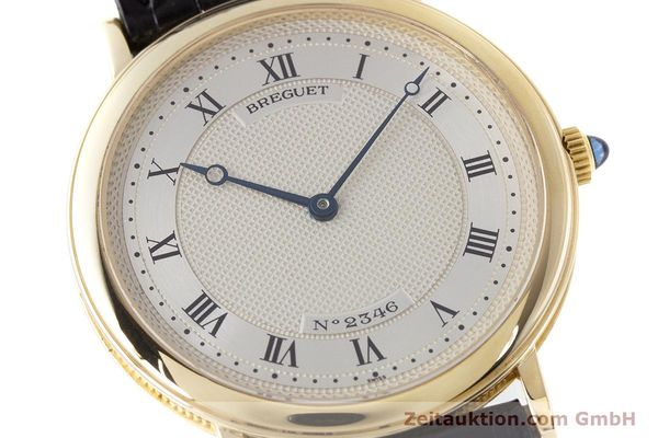 Used luxury watch Breguet Classique 18 ct gold automatic Kal. 2260  | 161526 02