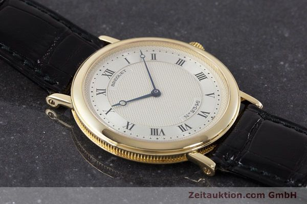 Used luxury watch Breguet Classique 18 ct gold automatic Kal. 2260  | 161526 14