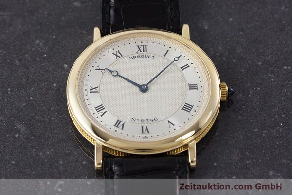 Used luxury watch Breguet Classique 18 ct gold automatic Kal. 2260  | 161526 15