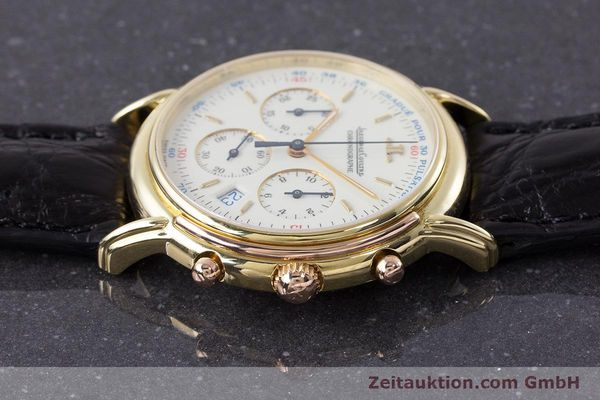 Used luxury watch Jaeger Le Coultre Odysseus chronograph 18 ct gold quartz Kal. 630 Ref. 165.73  | 161527 05