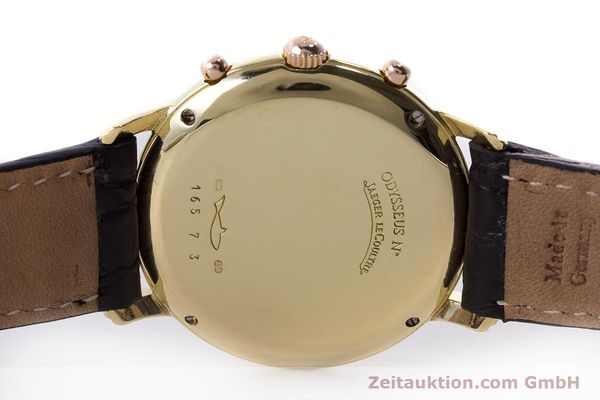 Used luxury watch Jaeger Le Coultre Odysseus chronograph 18 ct gold quartz Kal. 630 Ref. 165.73  | 161527 09