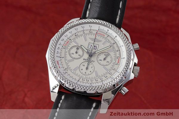 BREITLING BENTLEY CHRONOGRAPH STEEL AUTOMATIC KAL. B44 ETA 2892A2 LP: 7760EUR [161528]