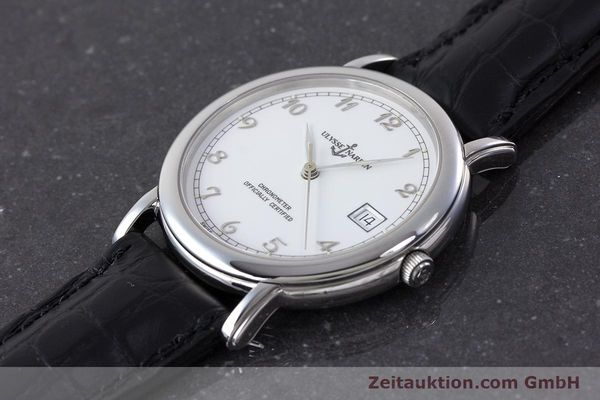 Used luxury watch Ulysse Nardin San Marco steel automatic Kal. ETA 2892-2 Ref. 133-77  | 161530 01