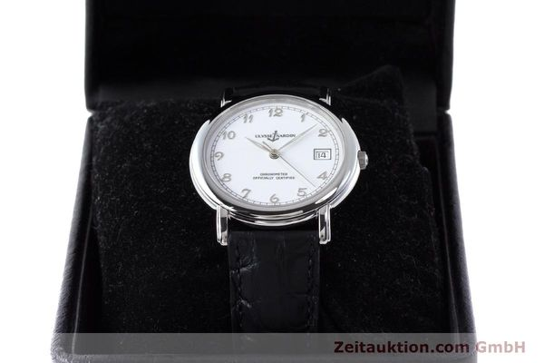 Used luxury watch Ulysse Nardin San Marco steel automatic Kal. ETA 2892-2 Ref. 133-77  | 161530 07